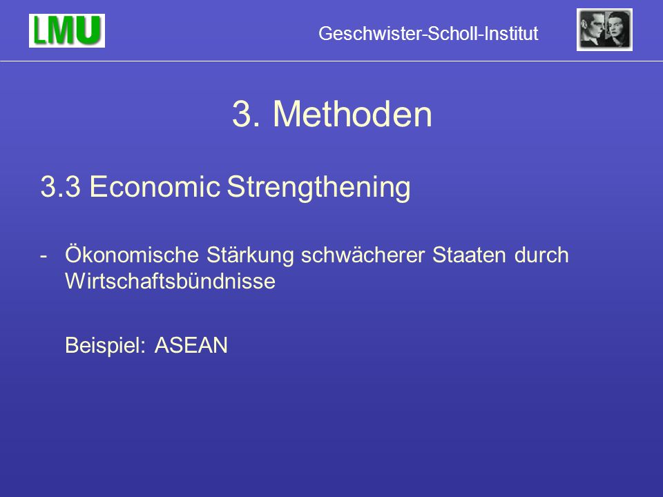 3. Methoden 3.3 Economic Strengthening