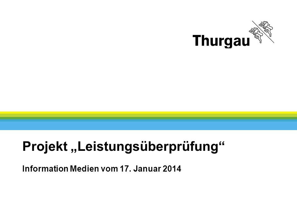 "Projekt ""Leistungsüberprüfung Information Medien vom 17. Januar 2014"