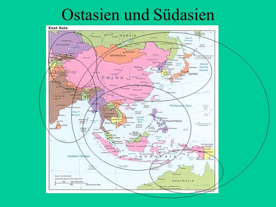 Ostasien und Südasien . 5
