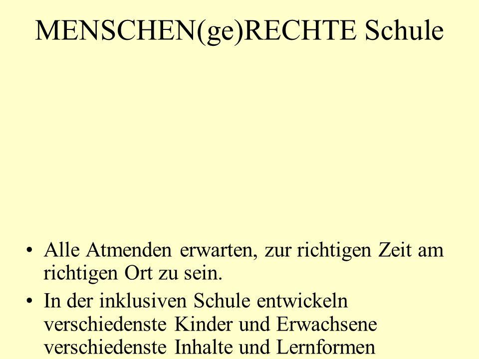 MENSCHEN(ge)RECHTE Schule