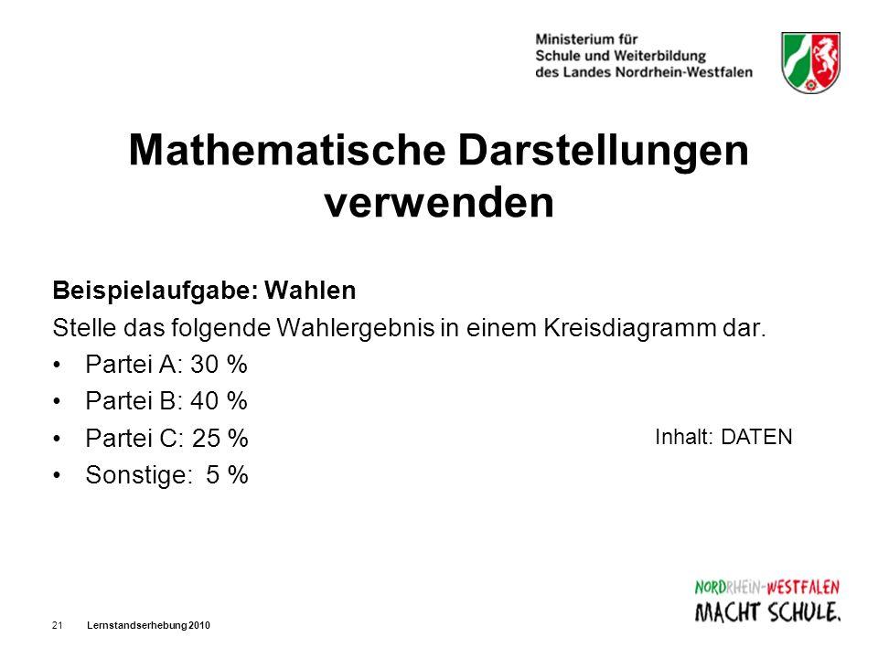 Mathematische Darstellungen verwenden