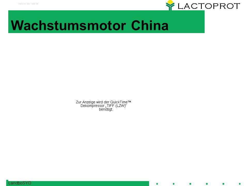 Wachstumsmotor China LandboSYD