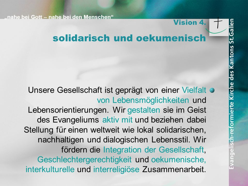 solidarisch und oekumenisch