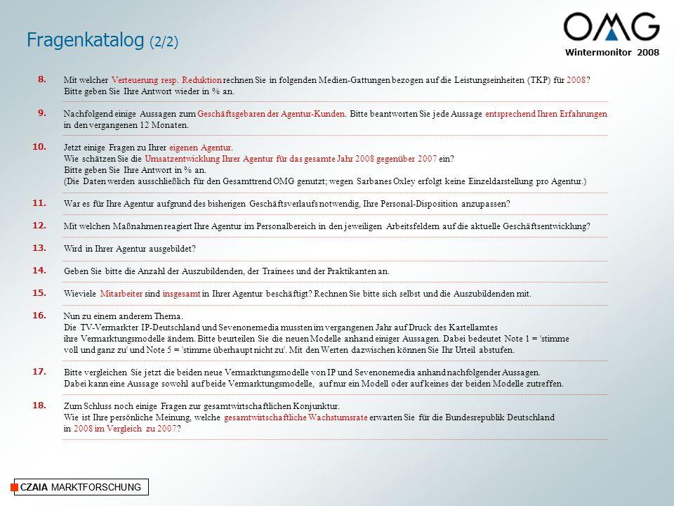 Fragenkatalog (2/2) 8. 9. 10. 11. 12. 13. 14. 15. 16. 17. 18.
