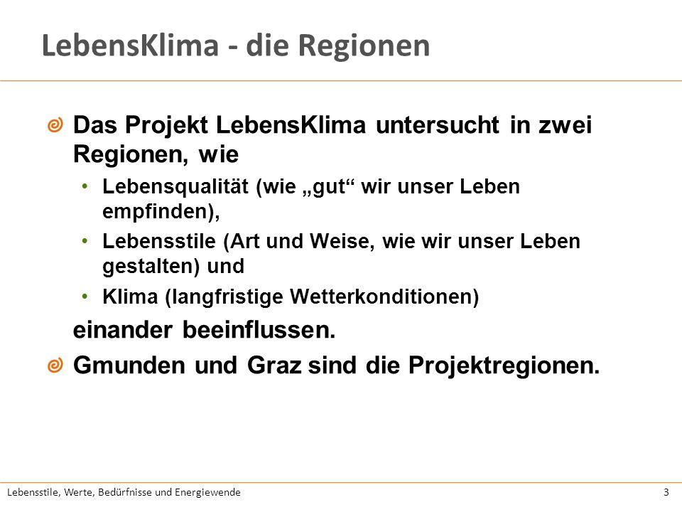 LebensKlima - die Regionen