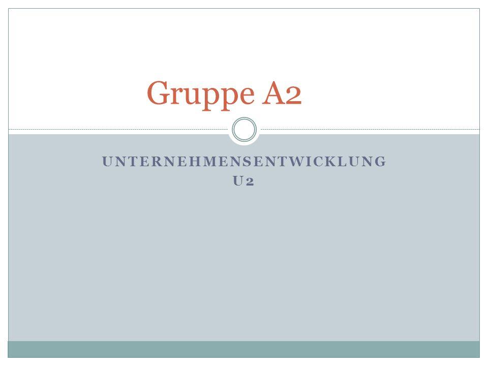 Unternehmensentwicklung U2