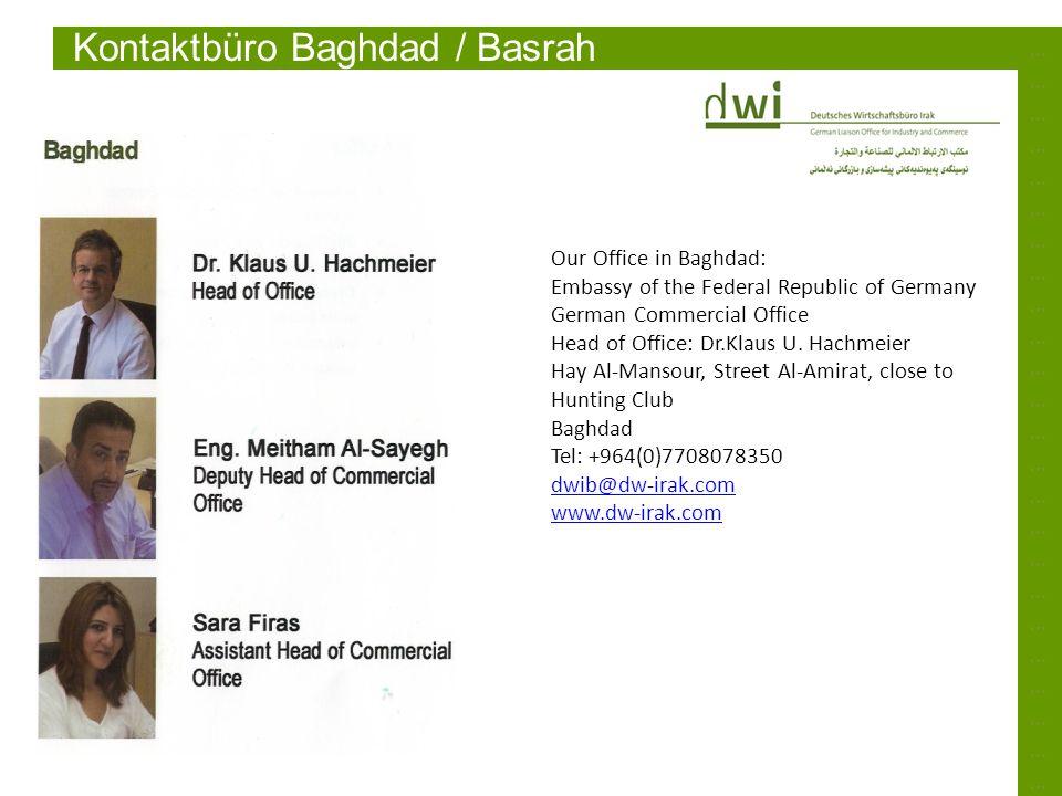 Kontaktbüro Baghdad / Basrah