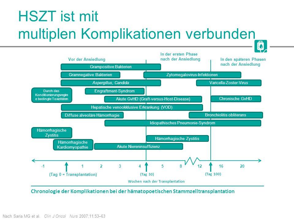 HSZT ist mit multiplen Komplikationen verbunden