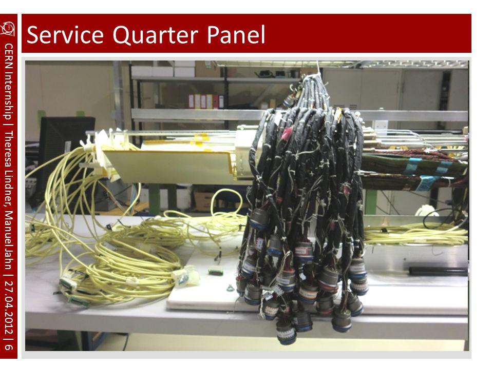 Service Quarter Panel Pfeile Beschriftung