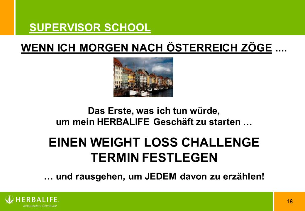 EINEN WEIGHT LOSS CHALLENGE TERMIN FESTLEGEN