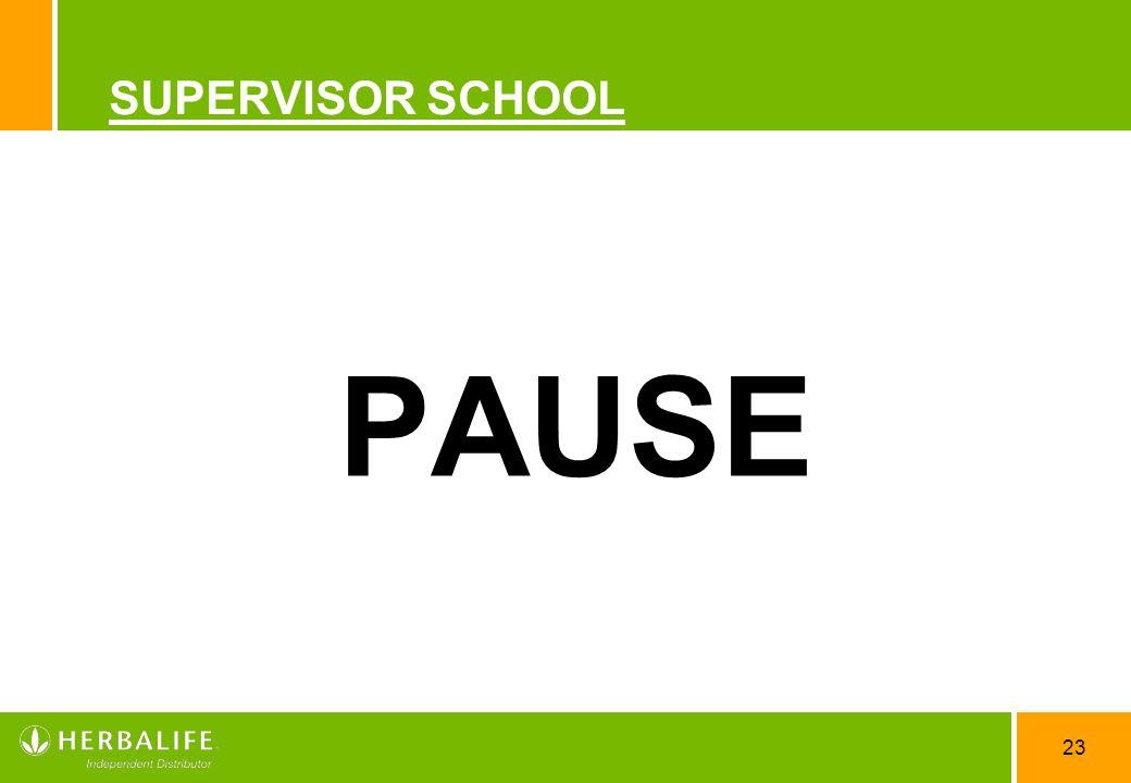 SUPERVISOR SCHOOL PAUSE