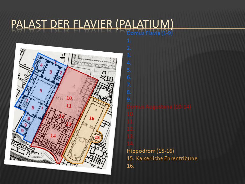 Palast der Flavier (Palatium)