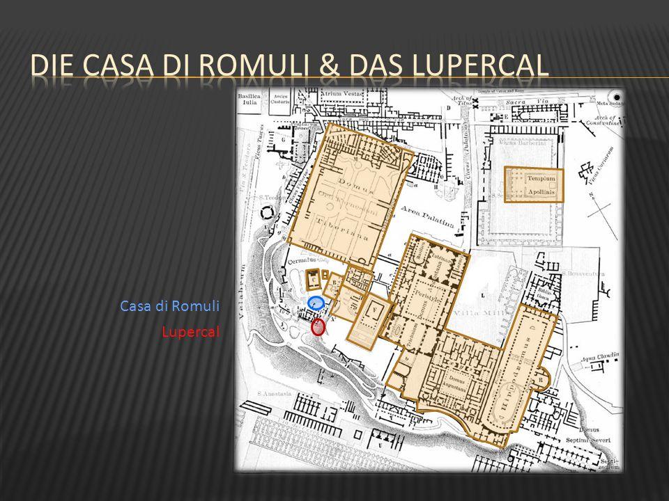 Die Casa di Romuli & das Lupercal