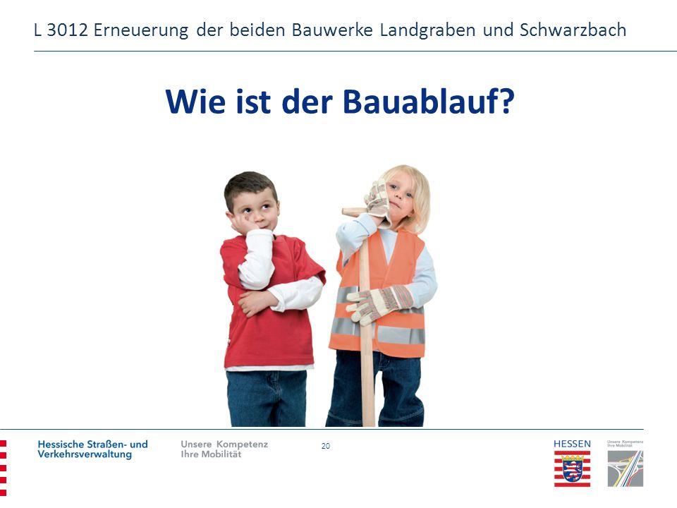 L 3012 Erneuerung der beiden Bauwerke Landgraben und Schwarzbach