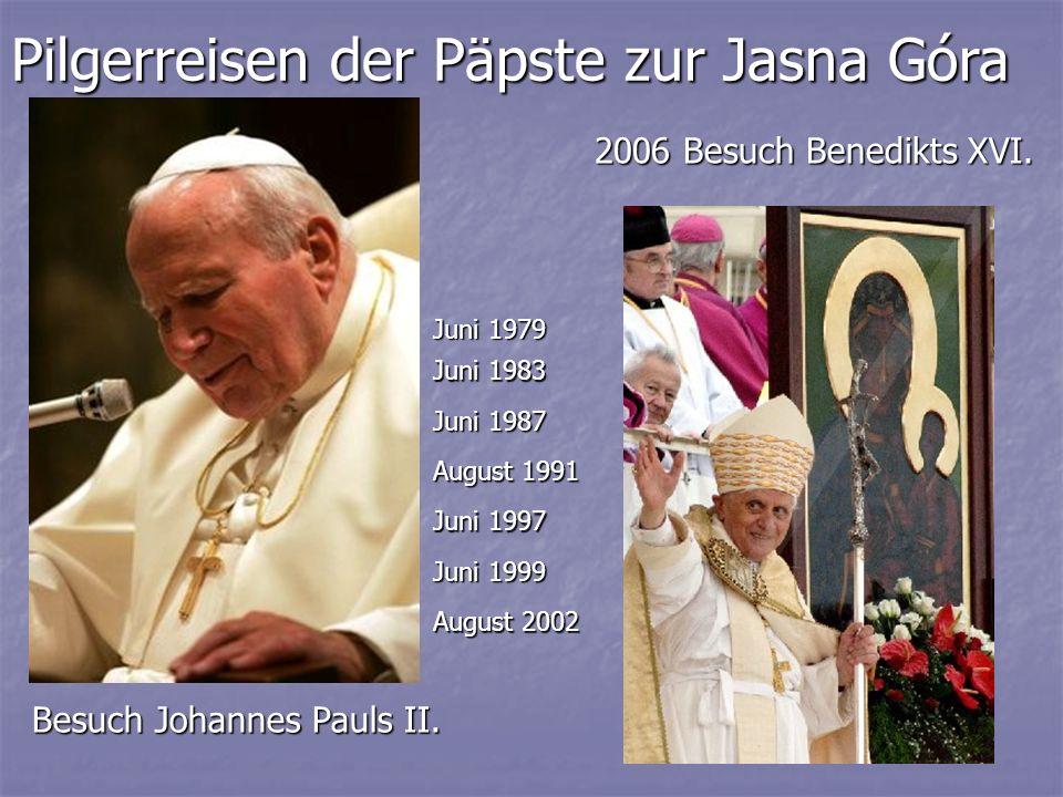 Pilgerreisen der Päpste zur Jasna Góra