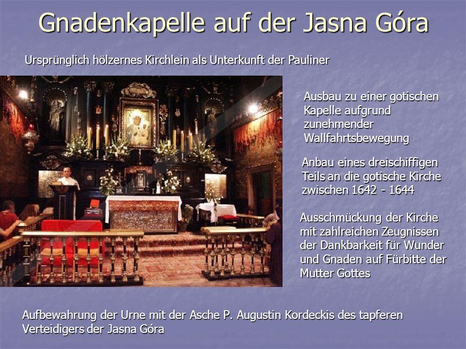 Gnadenkapelle auf der Jasna Góra