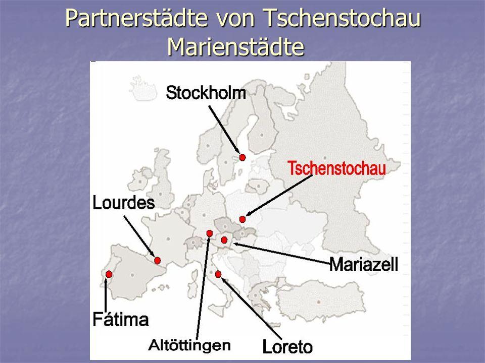 Partnerstädte von Tschenstochau