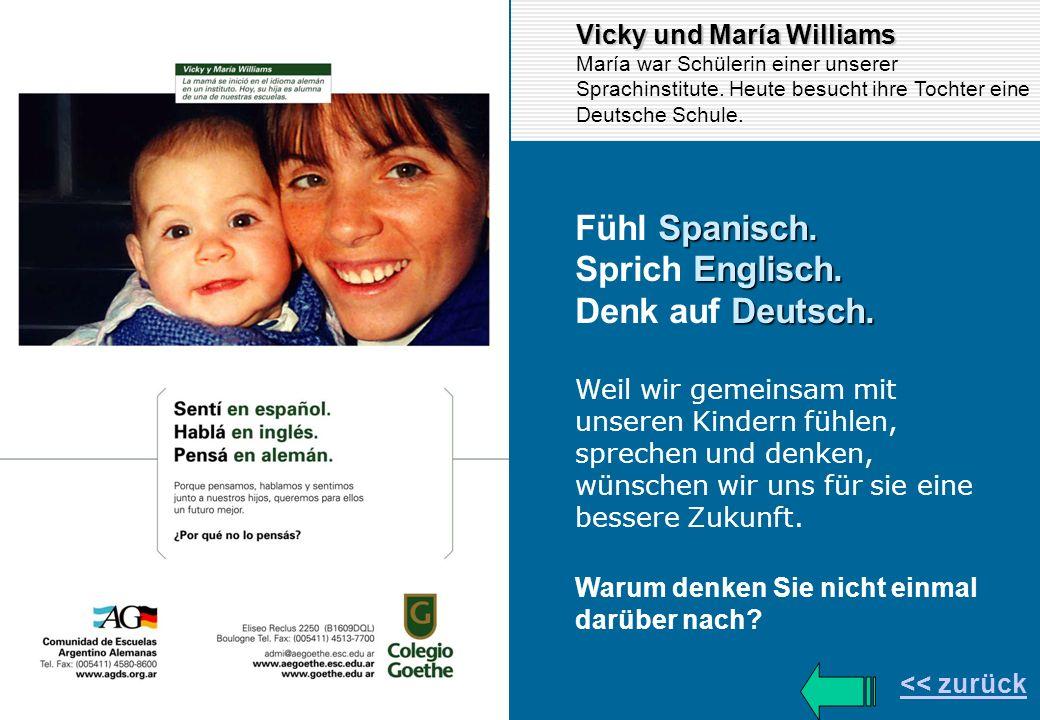 Fühl Spanisch. Sprich Englisch. Denk auf Deutsch.