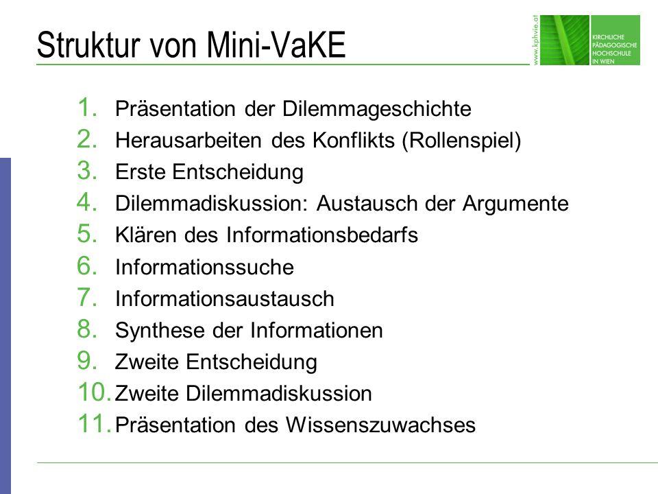 Struktur von Mini-VaKE