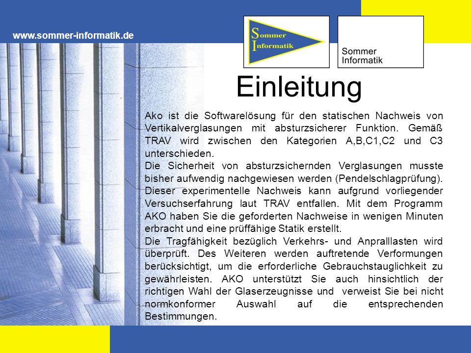 www.sommer-informatik.de Einleitung.