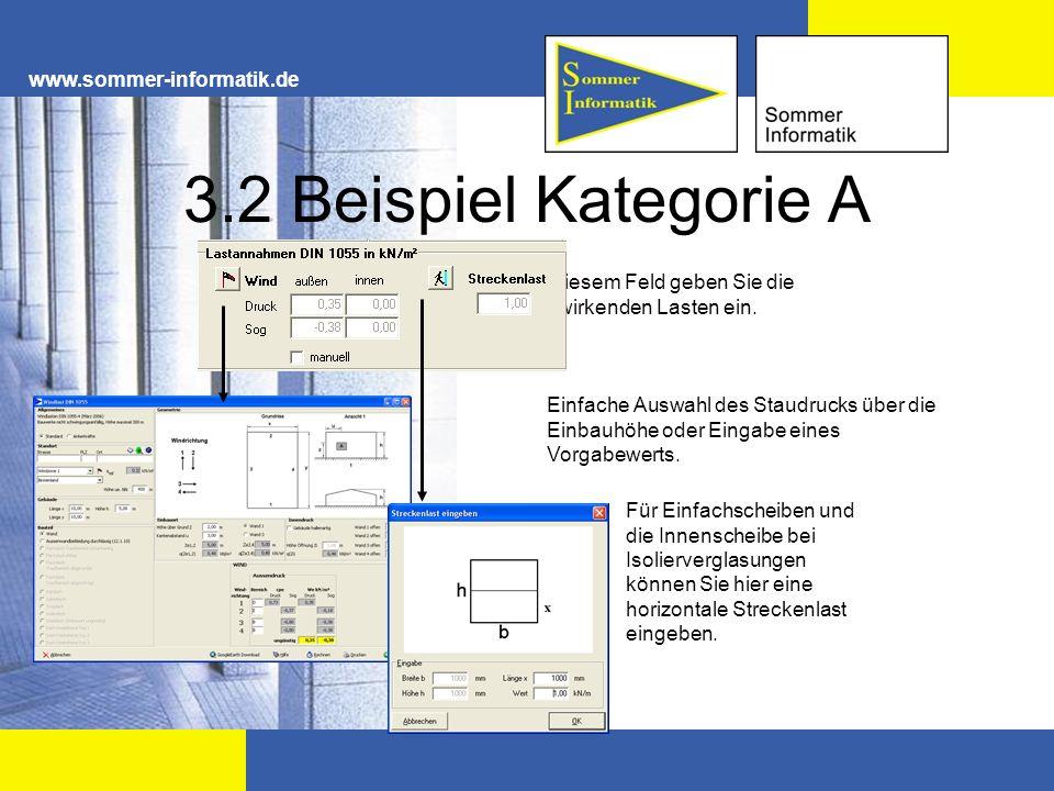 3.2 Beispiel Kategorie A www.sommer-informatik.de
