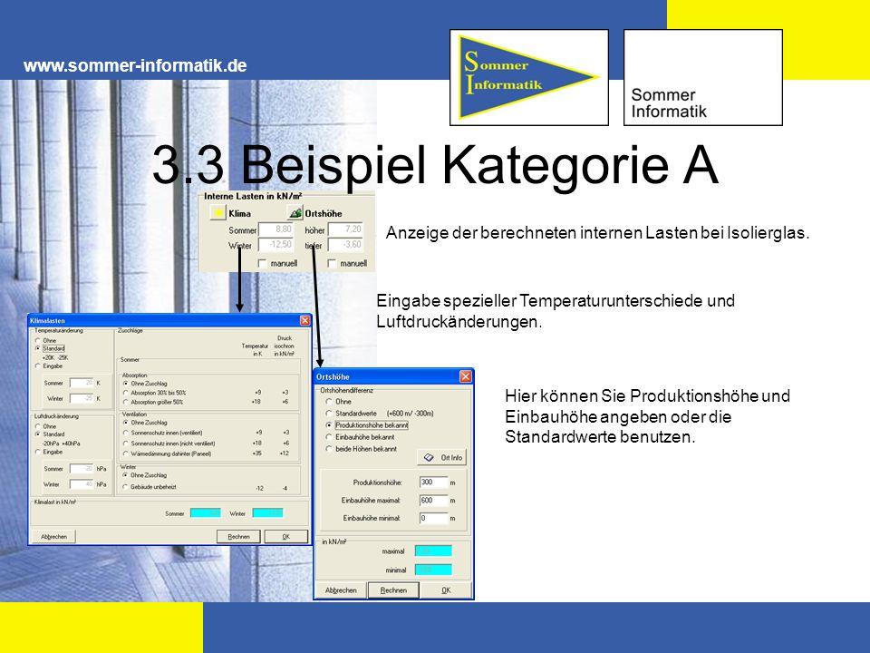 3.3 Beispiel Kategorie A www.sommer-informatik.de