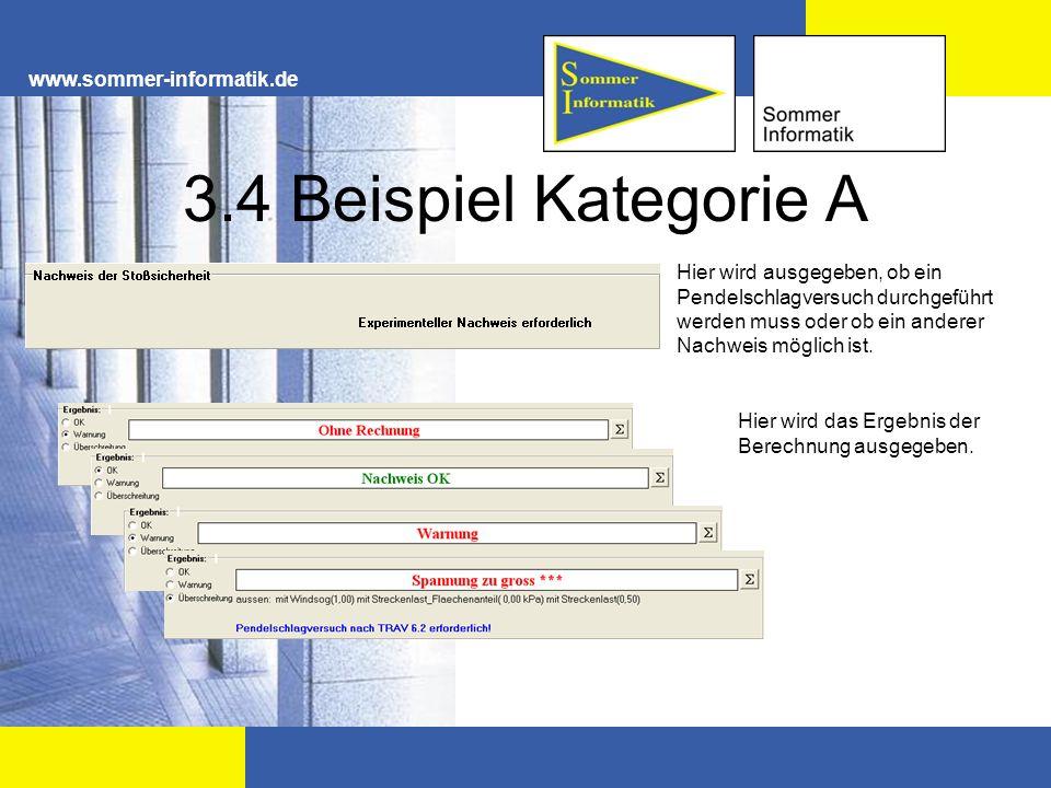 3.4 Beispiel Kategorie A www.sommer-informatik.de