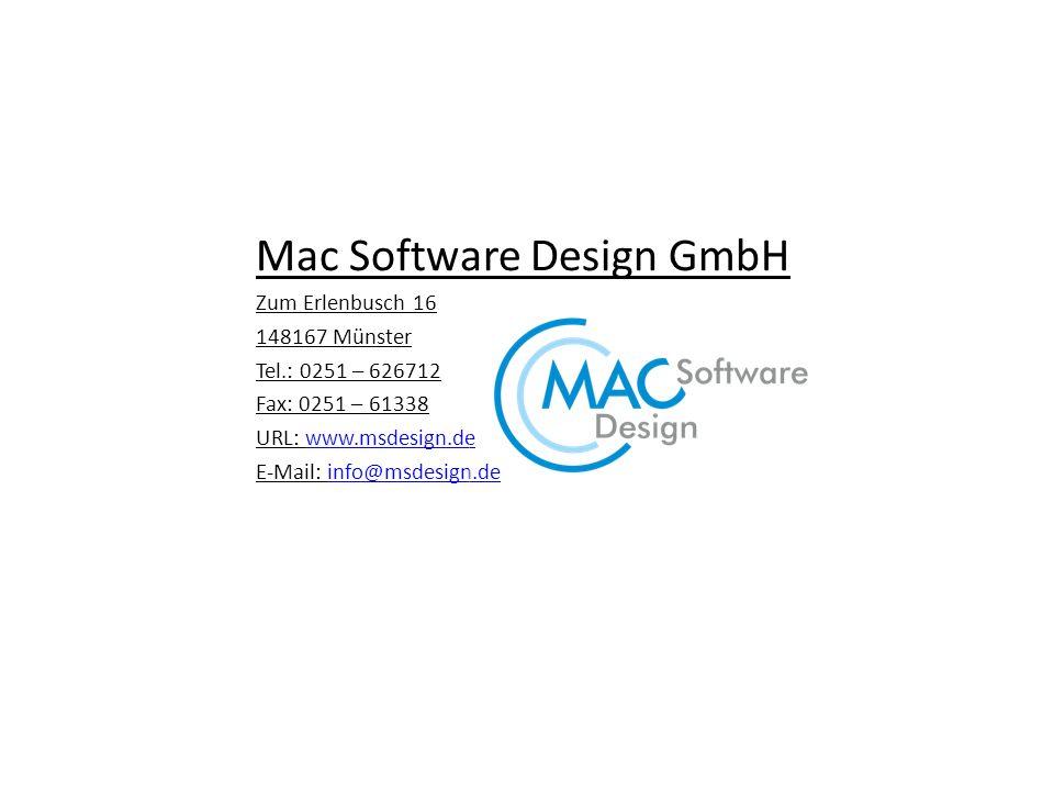 Mac Software Design GmbH