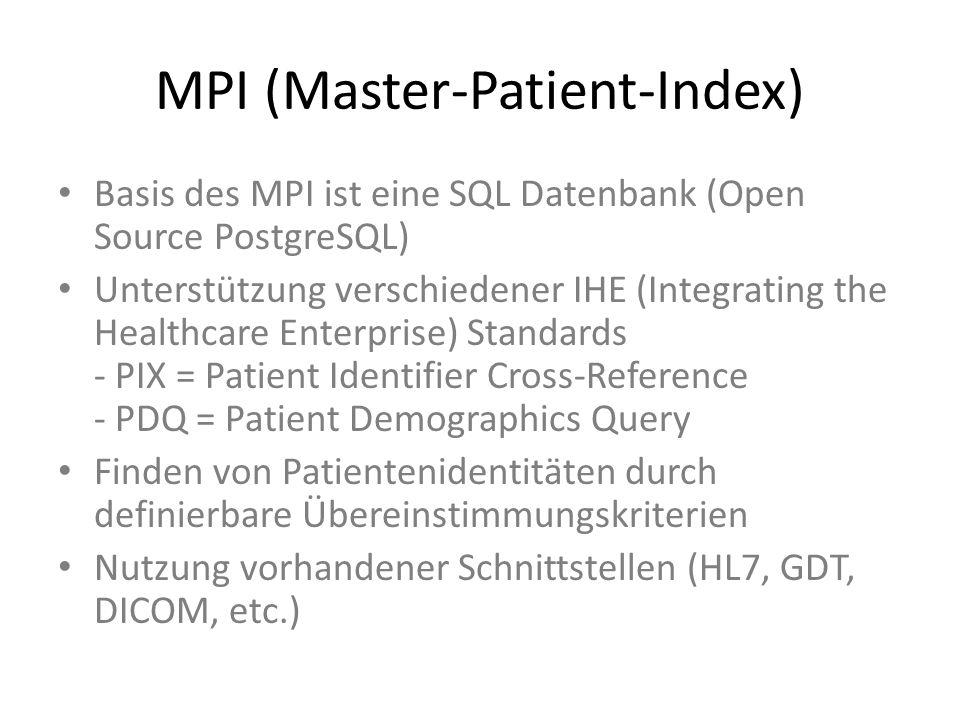 MPI (Master-Patient-Index)
