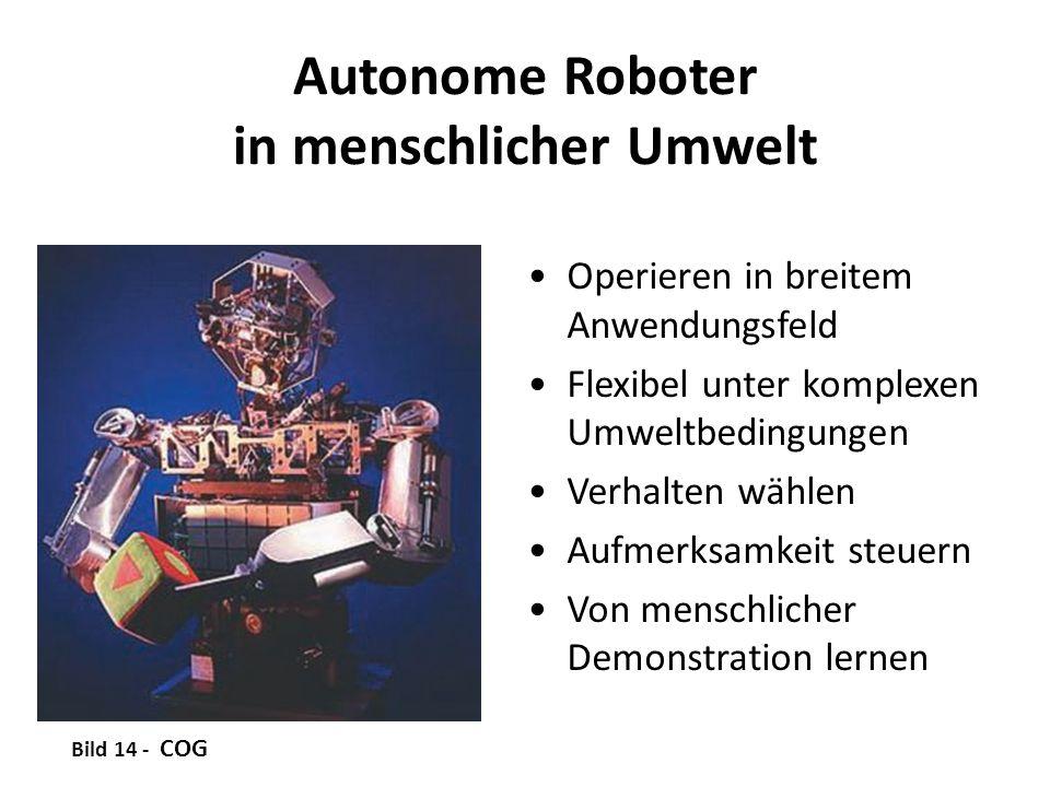 Autonome Roboter in menschlicher Umwelt