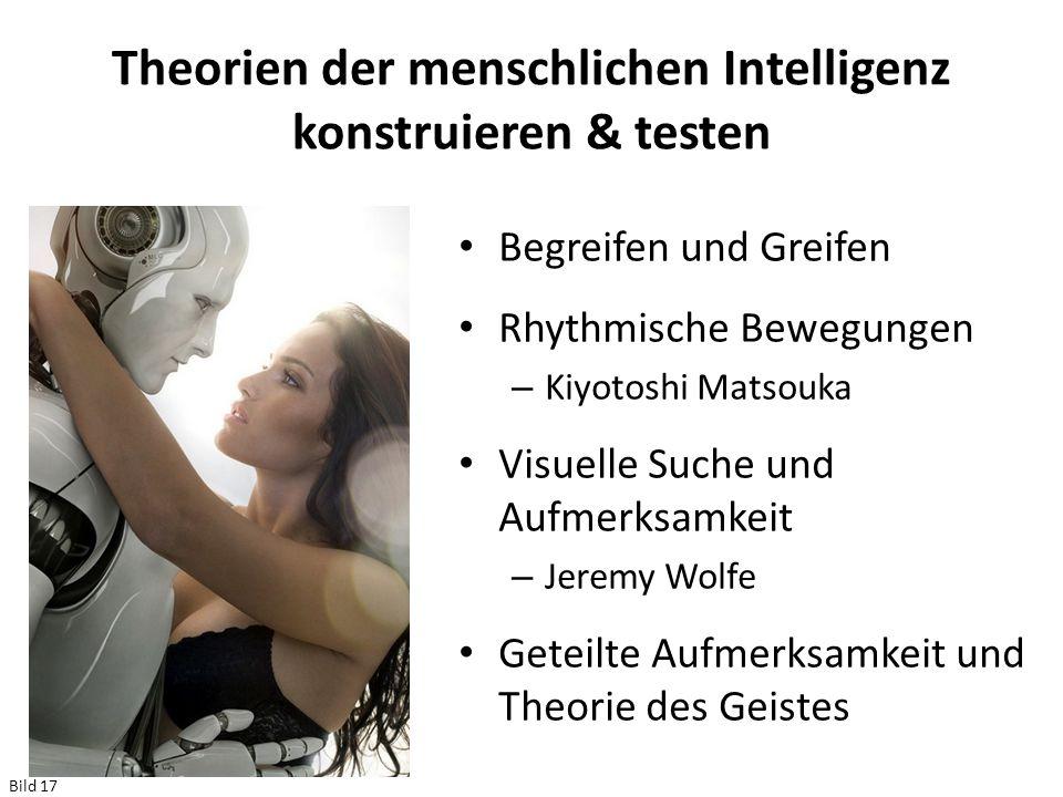 Theorien der menschlichen Intelligenz konstruieren & testen