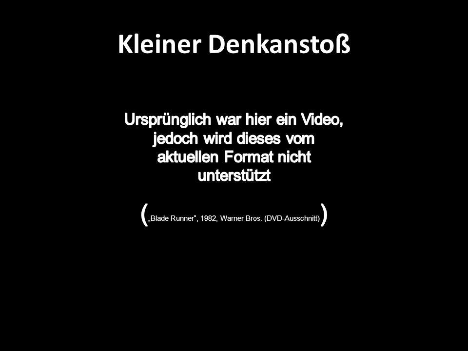 Kleiner Denkanstoß Ursprünglich war hier ein Video, jedoch wird dieses vom aktuellen Format nicht unterstützt.