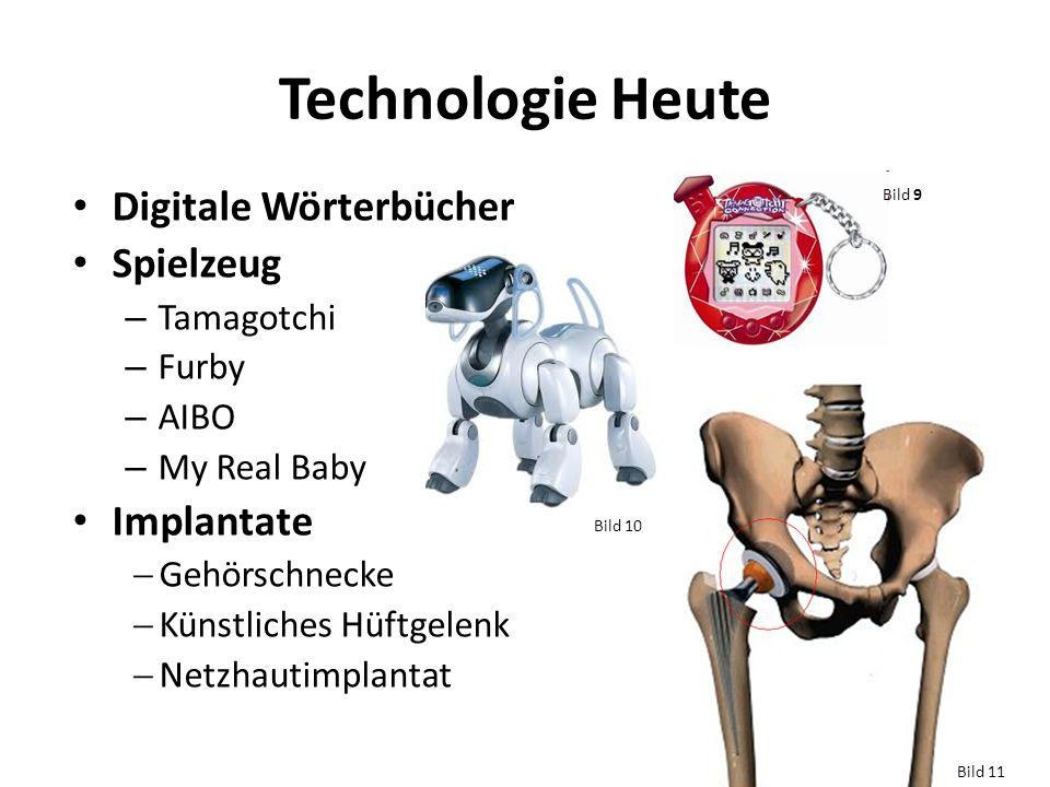 Technologie Heute Digitale Wörterbücher Spielzeug Implantate