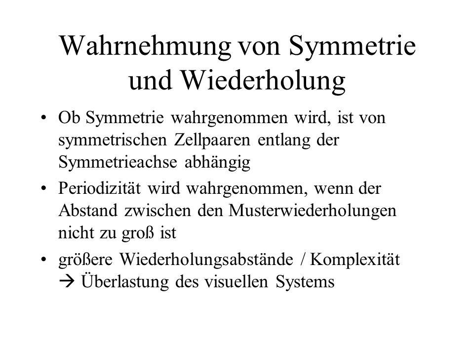 Wahrnehmung von Symmetrie und Wiederholung