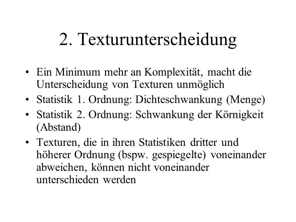 2. Texturunterscheidung