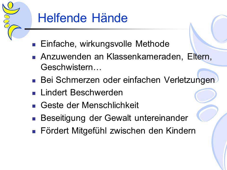 Helfende Hände Einfache, wirkungsvolle Methode