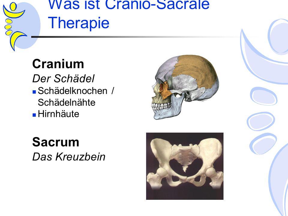 Was ist Cranio-Sacrale Therapie