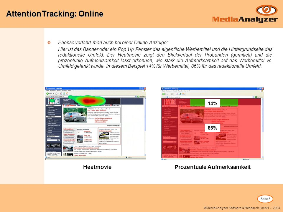 AttentionTracking: Online