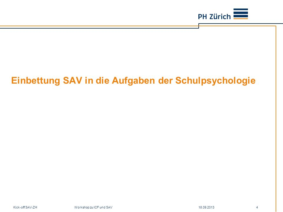 Einbettung SAV in die Aufgaben der Schulpsychologie