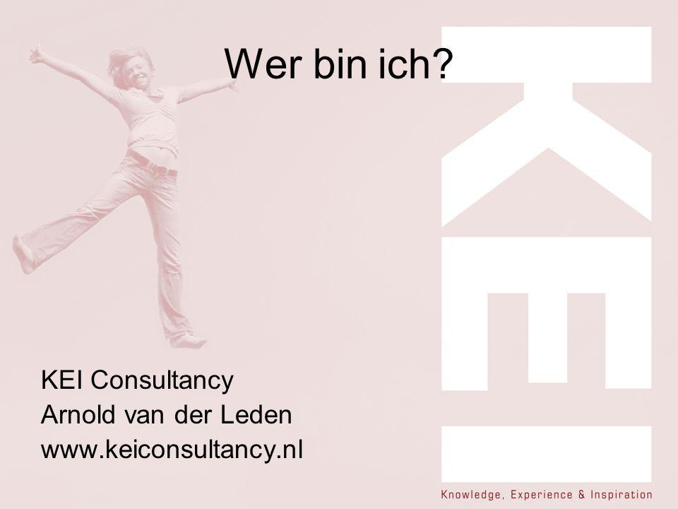 Wer bin ich KEI Consultancy Arnold van der Leden