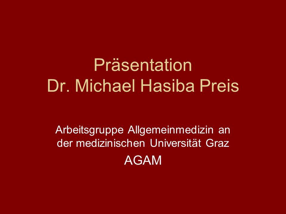 Präsentation Dr. Michael Hasiba Preis