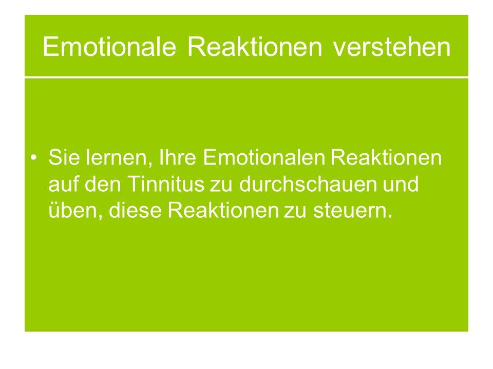 Emotionale Reaktionen verstehen