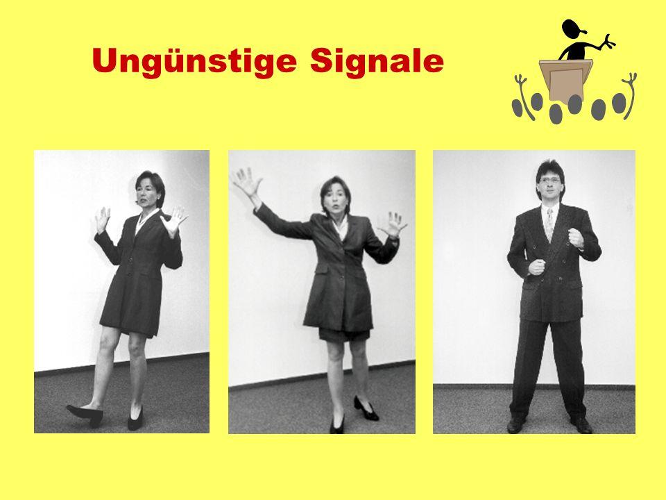 Ungünstige Signale