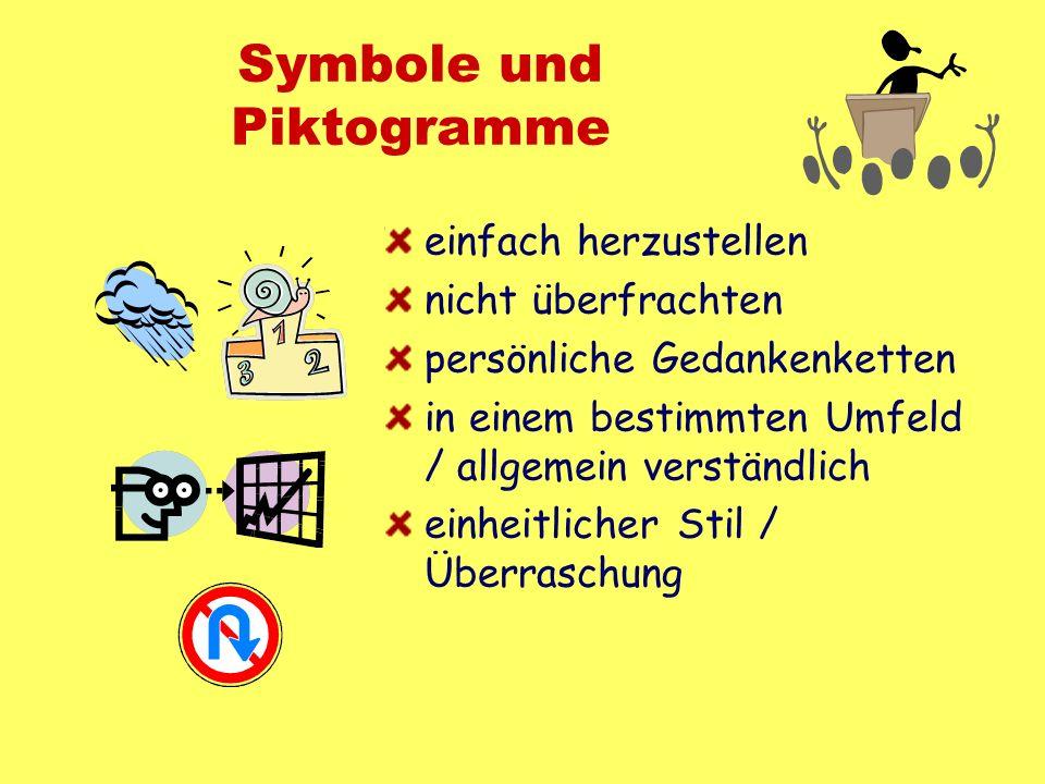 Symbole und Piktogramme