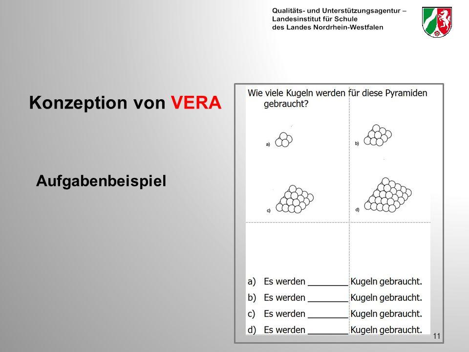 Konzeption von VERA Aufgabenbeispiel