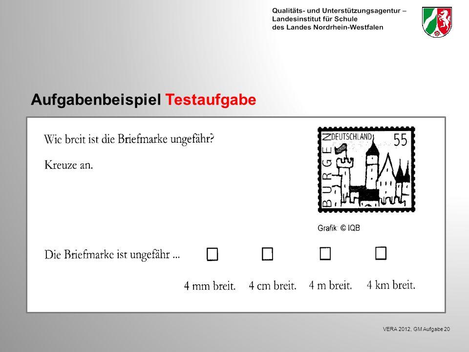 Aufgabenbeispiel Testaufgabe