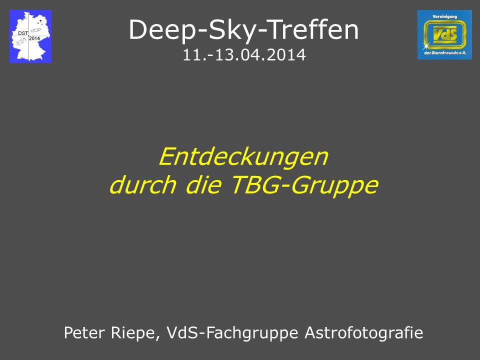 Deep-Sky-Treffen Entdeckungen durch die TBG-Gruppe 11.-13.04.2014