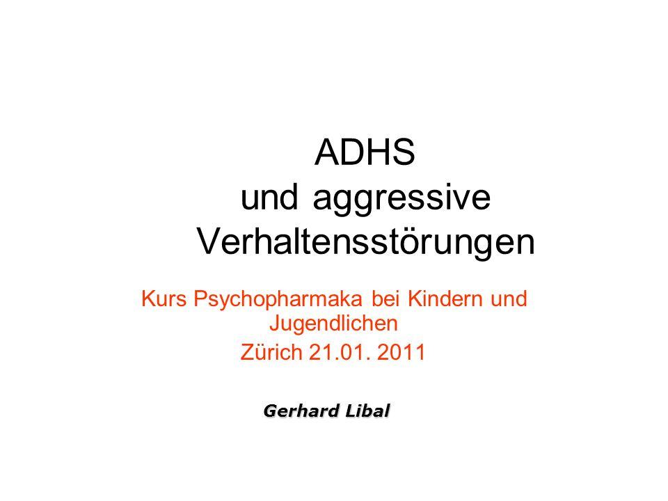 ADHS und aggressive Verhaltensstörungen