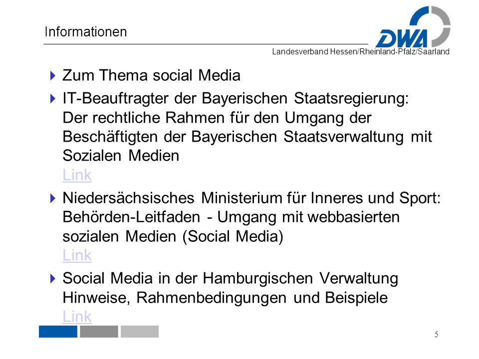 Informationen Zum Thema social Media.
