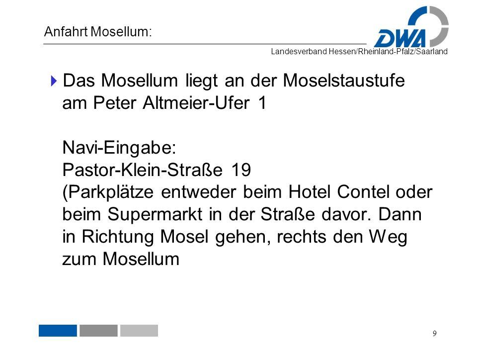 Anfahrt Mosellum: